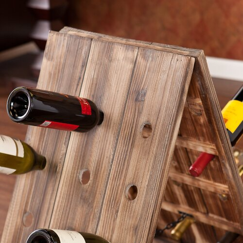 Wildon Home ® Wicklow 24 Bottle Riddling Wine Rack