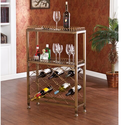 Wildon Home ® Colden Arabesque Wine Bar