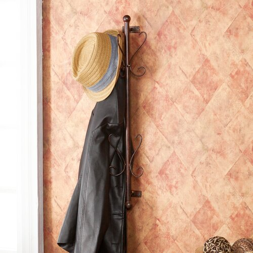 Wildon Home ® Gifford Wall Mount Entryway Hanging Rack