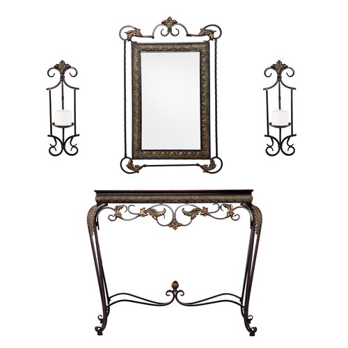 Wildon Home ® Ashley 4 Piece Console Table Set
