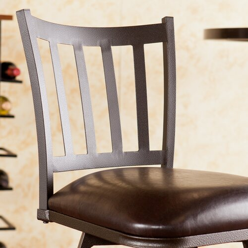"Wildon Home ® Louisville 24"" Adjustable Swivel Bar Stool"