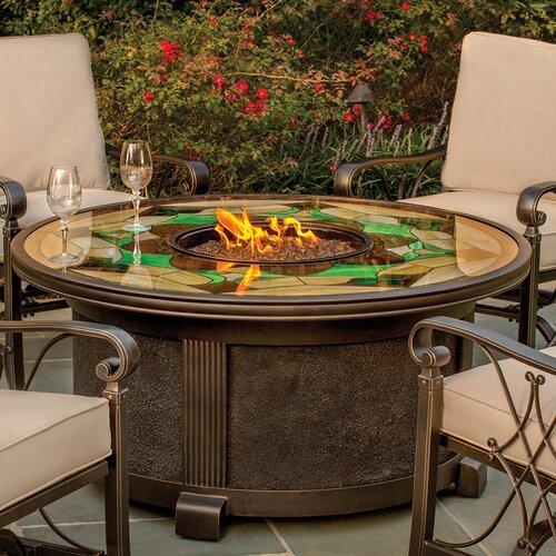 Wildon Home ® Richey Gas Fire Pit