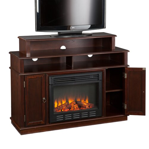 """Wildon Home ® Lincoln 48"""" TV Stand with Electric Fireplace"""
