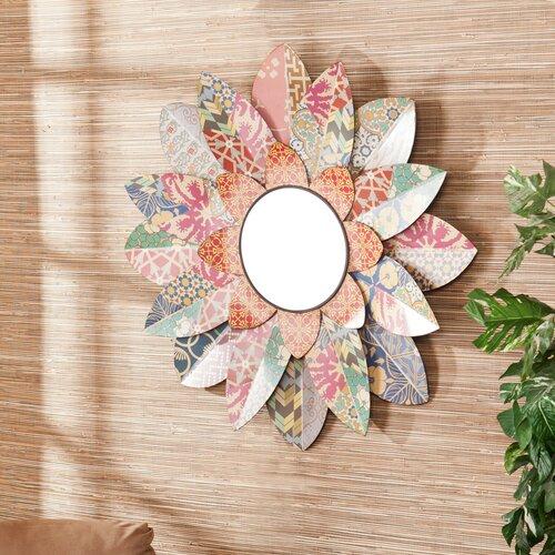 Caroline Decorative Floral Wall Mirror