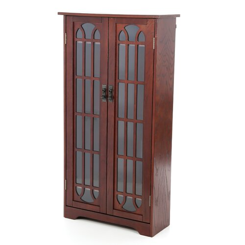 Wildon Home ® Woods Windowpane Multimedia Cabinet