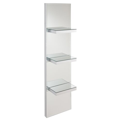 Wildon Home ® Newton Mirrored Wall Shelf