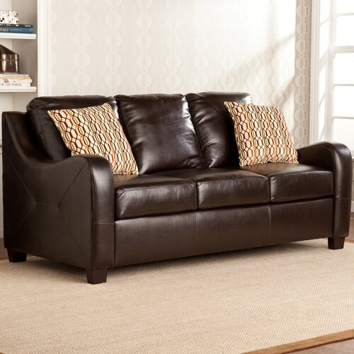 Wildon Home ® Beckett Leather Sofa