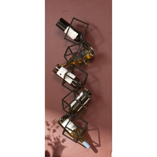 Wildon Home ® Carini 5 Bottle Wall Mounted Wine Rack