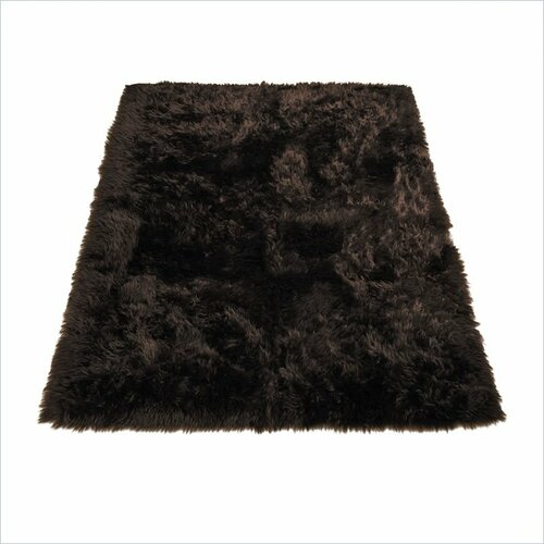 Walk On Me Animal Brown Area Rug