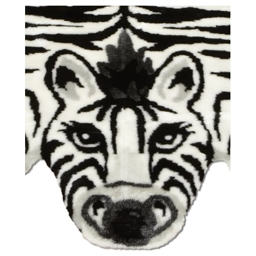 "Walk On Me Playmat: 2'3"" x 3'8"" - Kids Zebra"