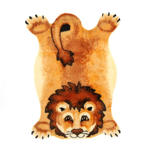 Walk On Me Lion Kids Rug