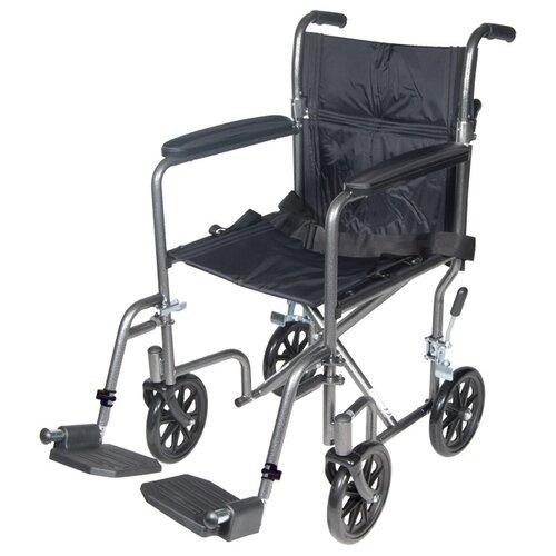 Steel Ultra Lightweight Transport Wheelchair