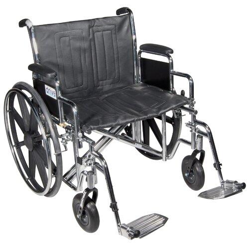 Sentra EC Heavy Duty Dual Axle Bariatric Wheelchair