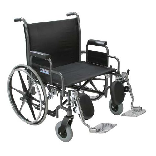 Sentra Heavy-Duty Extra Wide Dual Axle Bariatric Wheelchair