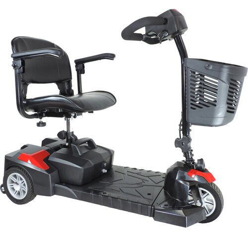 Drive Medical Spitfire Scout Wheel Compact Travel Scooter