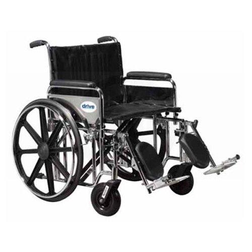 Sentra Extra Heavy Duty Dual Axle Bariatric Transport Wheelchair