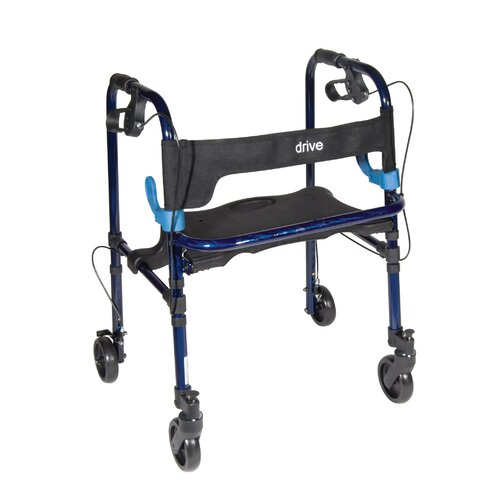Drive Medical Deluxe Clever Lite Rolling Walker