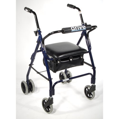Drive Medical Mimi Lite Push Brake Rolling Walker