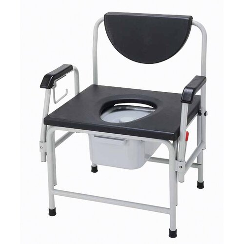 Drive Medical Drop Arm Bedside Commode Seat