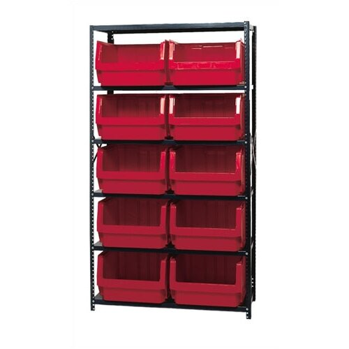 Quantum Storage Large 5 Shelf Giant Open Hopper Magnum Storage Unit