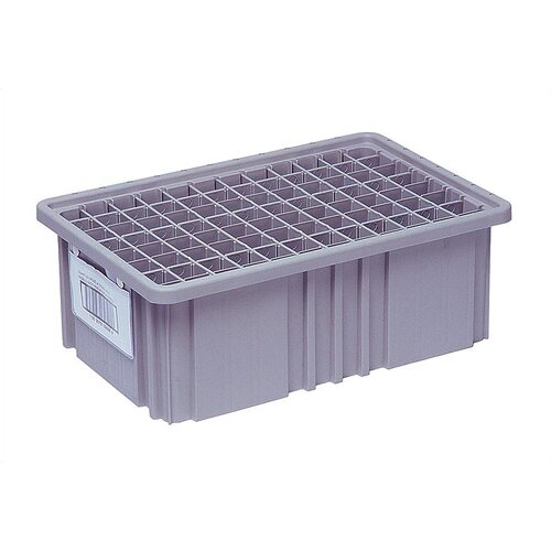 Quantum Storage Dividable Grid Storage Container Short Divider for DG91035 (Pack of 6)