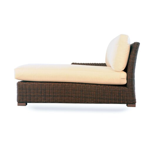 All weather wicker chaise lounge wayfair for Boca chaise pillow
