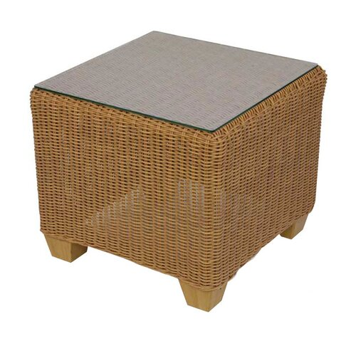 Lloyd Flanders Napa Square Cube Side Table