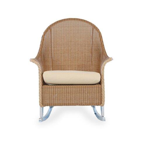 Lloyd Flanders Hi-Back Rocker Lounge Chair with Cushion
