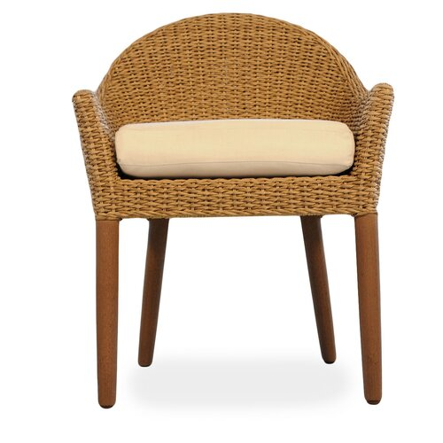 Lloyd Flanders Tobago Dining Arm Chair with Cushion