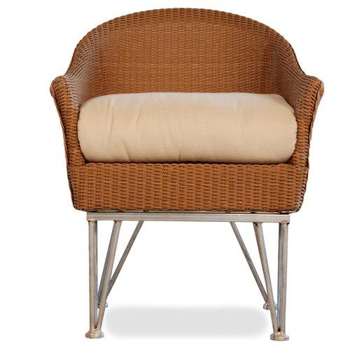 Lloyd Flanders Mod Dining Arm Chair with Cushion