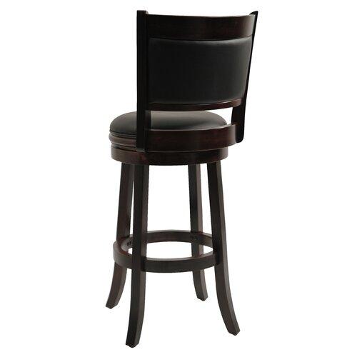 "Boraam Industries Inc Augusta 29"" Swivel Bar Stool with Cushion"
