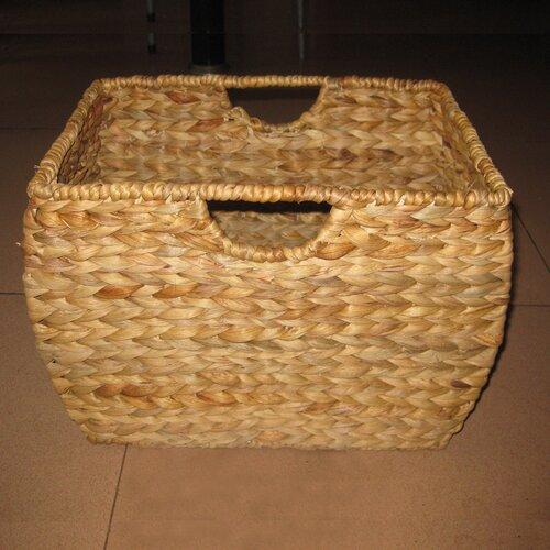 Pangaea Home and Garden Pangaea Rattan Natural File Basket with Liner