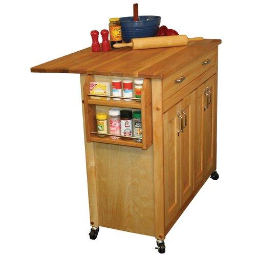 Catskill Craftsmen Kitchen Cart: Catskill Craftsmen Mid Size Kitchen Island & Reviews