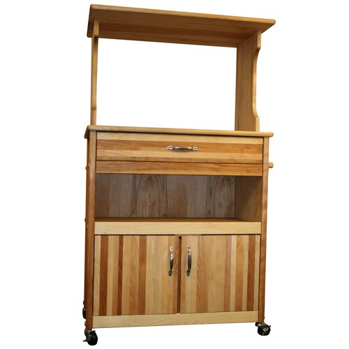 Catskill Craftsmen, Inc. Farmhouse Microwave Cart