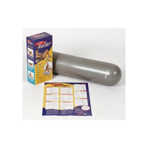 """FitBall Roller 6"""" x 30"""" in Grey"""