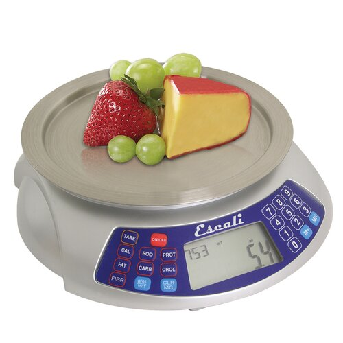 Escali Cibo Digital Nutritional Scale