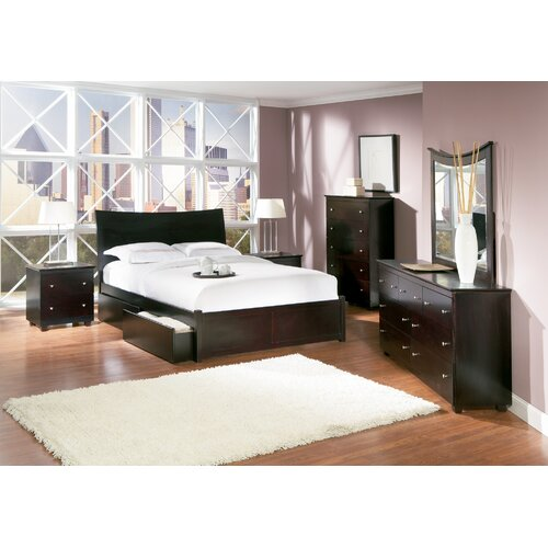 Atlantic Furniture Milano Storage Platform Bed
