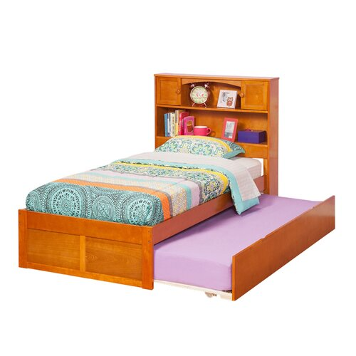 Atlantic Furniture Urban Lifestyle Newport Bookcase Bed with Trundle