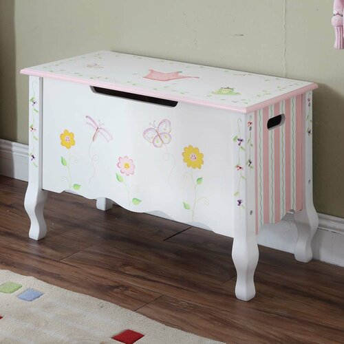 Teamson Kids Princess and Frog Toy Box