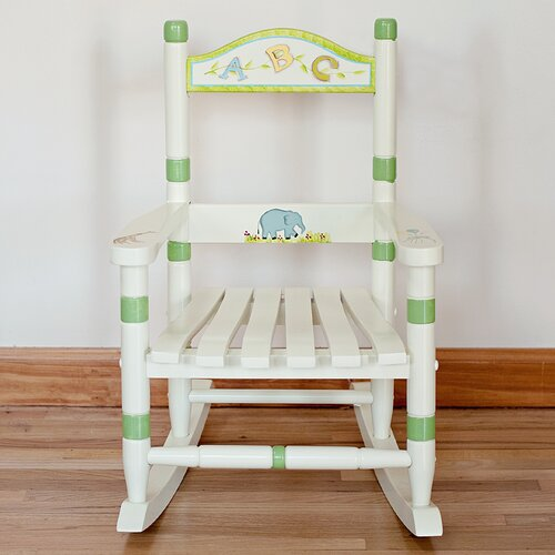 Alphabet Kid's Rocking Chair