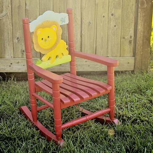 Lion Kid's Rocking Chair