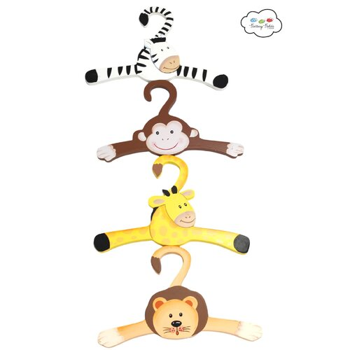 Teamson Kids Sunny Safari Hangers