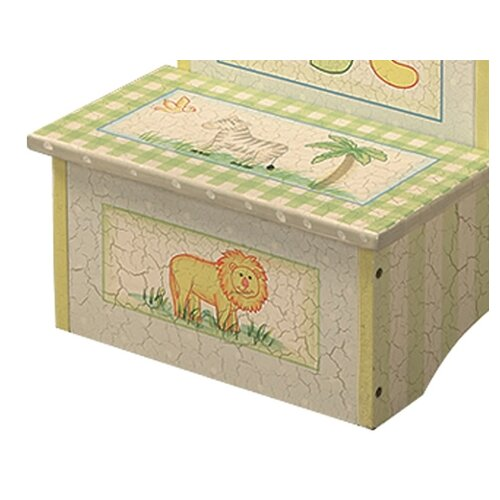 Teamson Kids Safari 2-Step Step Stool