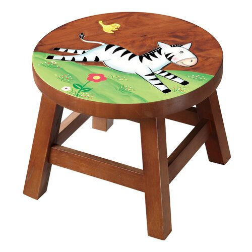 Zebra Kid's Stool