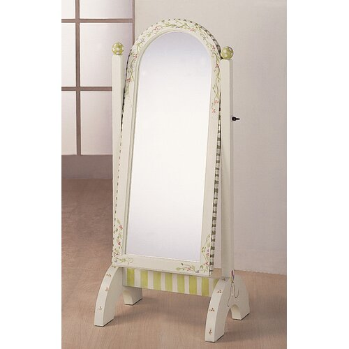 "Teamson Kids Alphabet 51"" H x 20"" W Children's Standing Mirror"