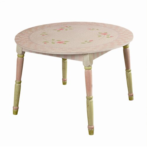 Teamson Kids Pink Crackle Children's Writing Table