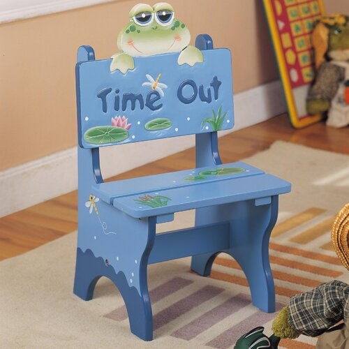 Froggy Time Out Kid's Desk Chair