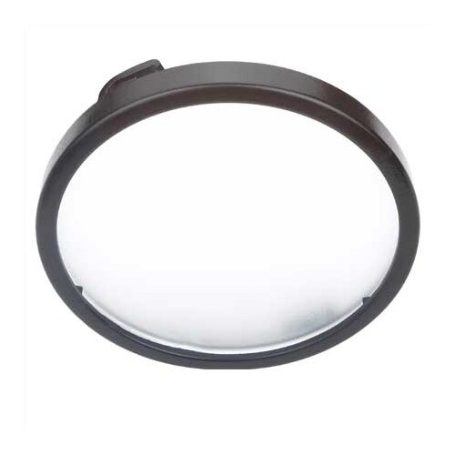 LX Linear Track Lighting Disk Light with Etched Glass