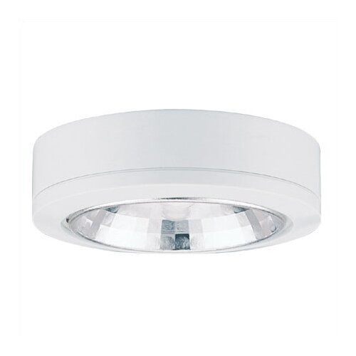 Ambiance LX Linear Track Lighting Accent Disk Light in White