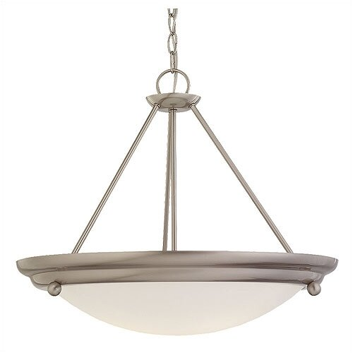 Centra 3 Light Convertible Inverted Pendant